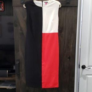 NWT Colorblocked sheath dress